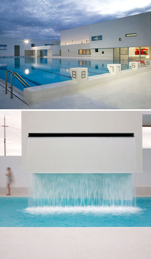 modern swimming complex les bains des docks – THE STYLE FILES