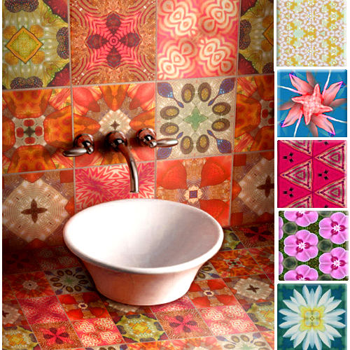 Mexican Kitchen Art Print Decor I Love My Kitchen Decor Mi: Crinson's Colourful Tiles