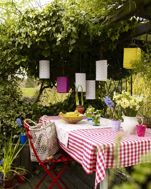 Garden party on pinterest garden parties summer garden for Backyard party decoration ideas