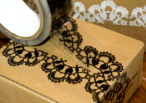 tape from lace