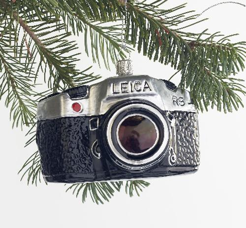 vintage camera christmas ornament - Vintage Camera Christmas Ornament THE STYLE FILES