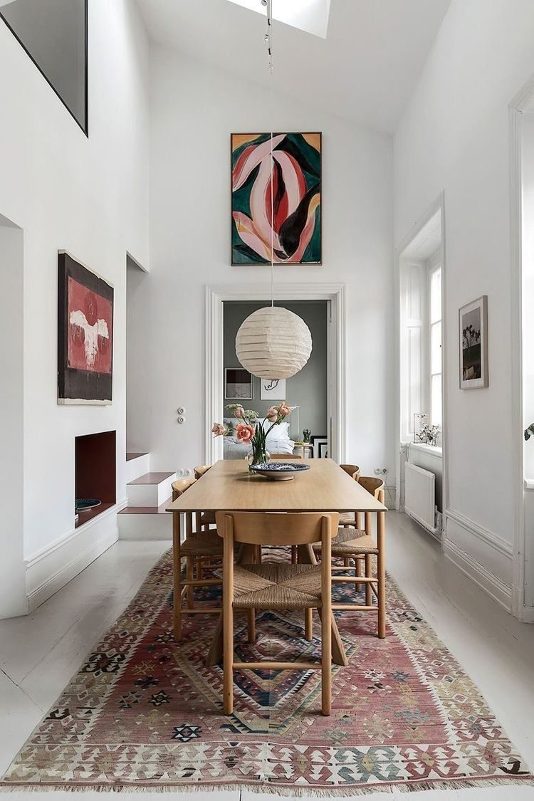 How A Rug Can Change A Room The Style Files
