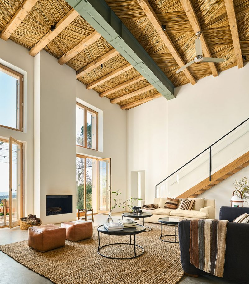 A Designer S Modern Rustic Holiday Home In Spain The Style Files