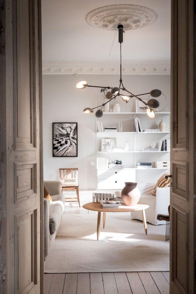 A Beautiful Swedish Apartment in Neutral Tones